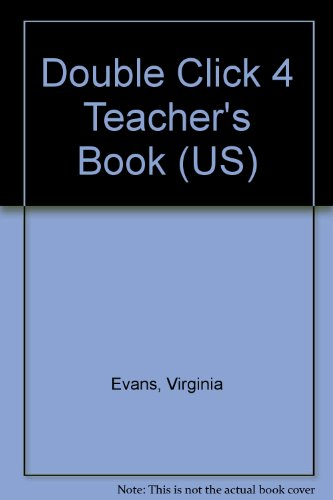 9781845589349: Double Click 4 Teacher's Book (US)