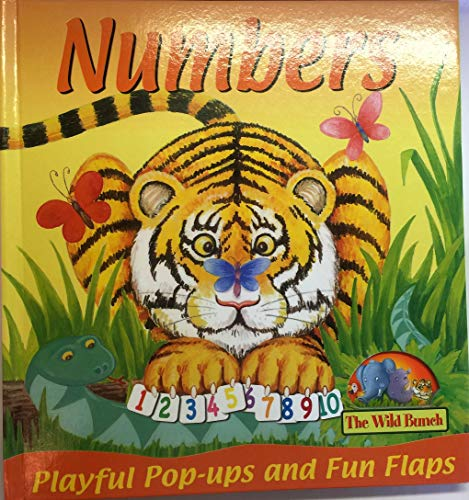 9781845613730: Numbers (Playful Pop-ups & Fun Flaps, the Wild Bunch)