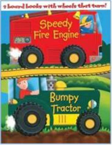 9781845614065: Speedy Fire Engine: AND Bumpy Tractor (Wheelie Board Pack)