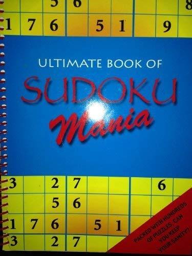 9781845614843: Ultimate Book of Sudoku Mania