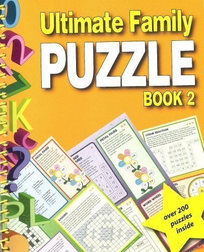 Ultimate Family Puzzle Book 2: Staff of Puzzlecraft and Puzzle Press