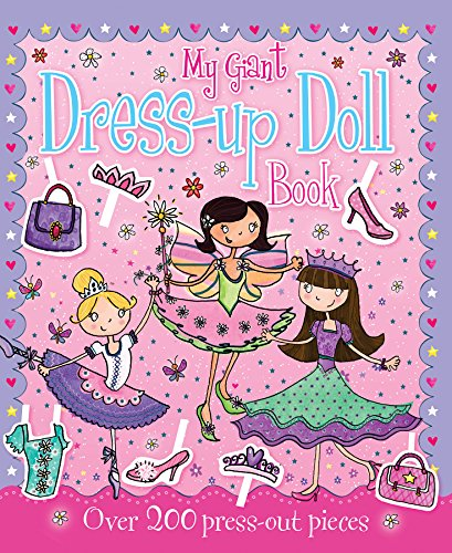 9781845615239: Giant Dress Up Doll Book (Sticker and Activity Book)