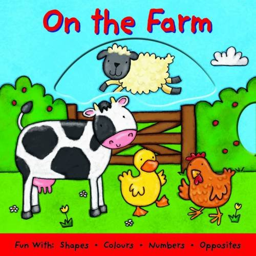 9781845616694: On the Farm, a Push-pull-turn and Lift Book