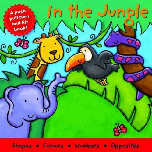 9781845616700: In the Jungle (Board Book Deluxe)