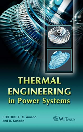 9781845640620: Thermal Engineering in Power Systems (Developments in Heat Transfer)