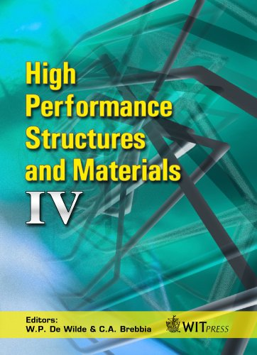 9781845641061: High Performance Structures and Materials: 4 (WIT Transactions on the Built Environment)