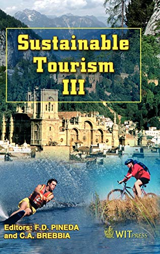 9781845641245: Sustainable Tourism III (Wit Transactions on Ecology and the Environment)
