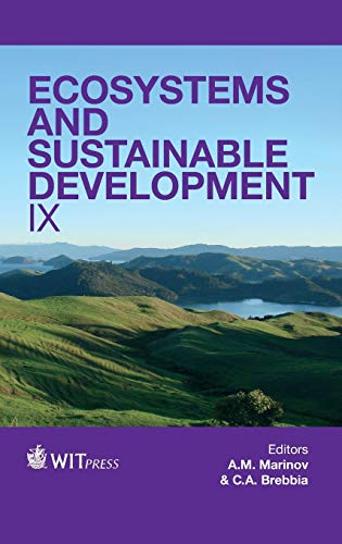 Ecosystems and Sustainable Development: IX (Hardback)