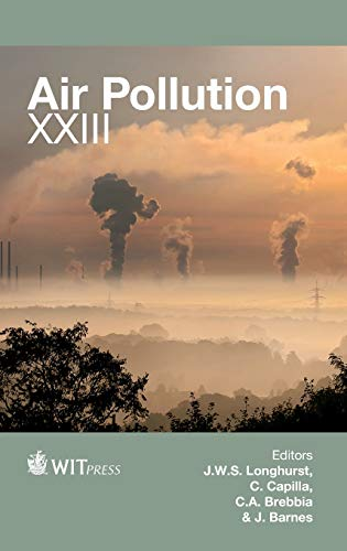 Air Pollution XXIII (Hardback)