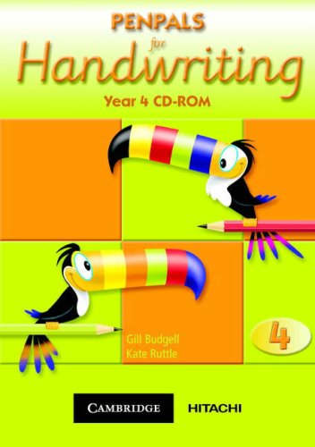 9781845650124: Penpals for Handwriting Year 4 CD-ROM