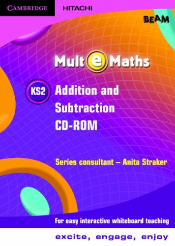 9781845650636: Mult-e-Maths KS2 Addition and Subtraction CD ROM