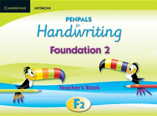 9781845651954: Penpals for Handwriting Foundation 2 Teacher's Book Enhanced edition