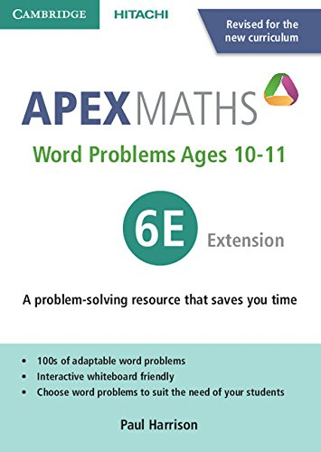 9781845652609: Apex Word Problems Ages 10-11 6 Extension UK edition (Apex Maths)