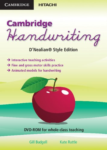 Cambridge Handwriting D'Nealian Style Edition (DVD-Video): Gill Budgell