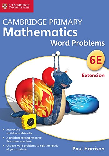Cambridge Primary Mathematics Stage 6 Extension Word Problems DVD-ROM: Harrison, Paul