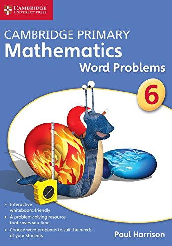 9781845652920: Cambridge Primary Mathematics Stage 6 Word Problems DVD-ROM (Apex Maths)