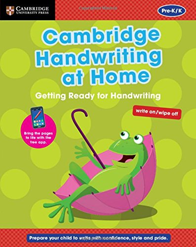 Cambridge Handwriting at Home: Getting Ready for Handwriting (Penpals for Handwriting): Budgell, ...