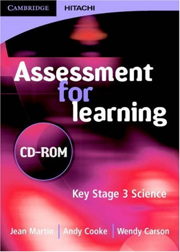 Assessment for Learning CD-ROM: Jean Martin, Andrew Cooke, Kevin Frobisher
