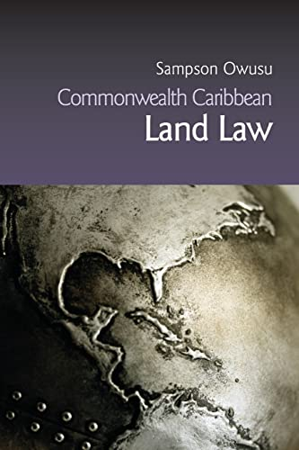 9781845680138: Commonwealth Caribbean Land Law (Commonwealth Caribbean Law)