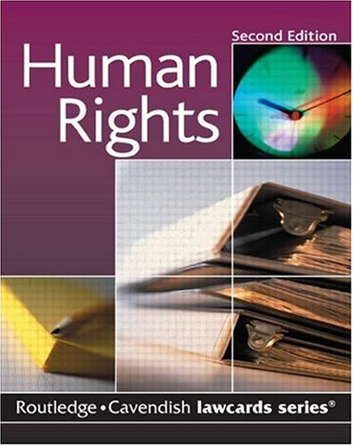Cavendish: Human Rights Lawcard (Lawcards): Routledge