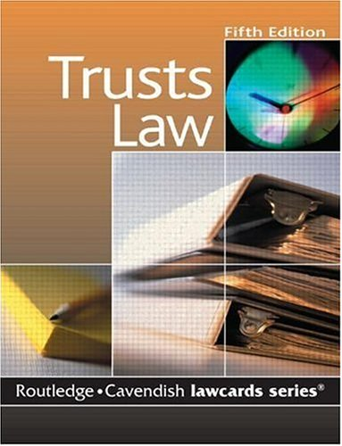 Cavendish: Trusts Lawcards: Routledge