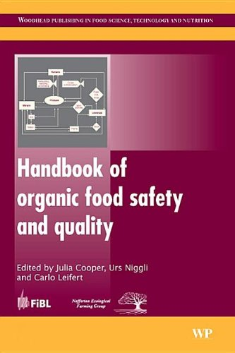 Handbook of Organic Food Safety and Quality: J. Cooper