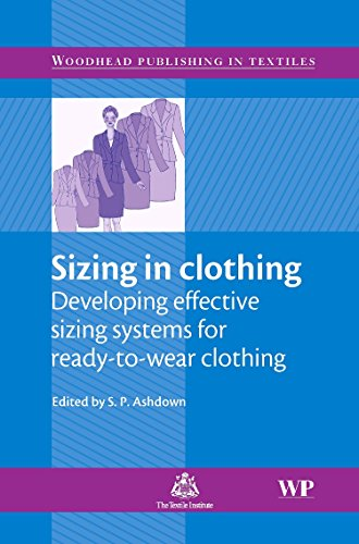 9781845690342: Sizing in Clothing (Woodhead Publishing Series in Textiles)