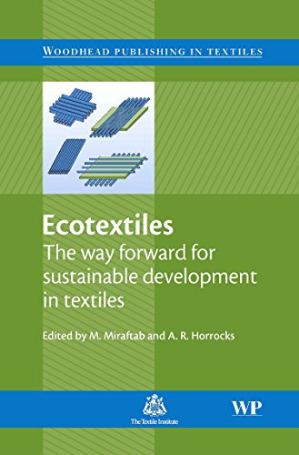 Ecotextiles: The Way Forward for Sustainable Development: M. Miraftab A.R.