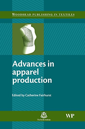 9781845692957: Advances in Apparel Production (Woodhead Publishing Series in Textiles)