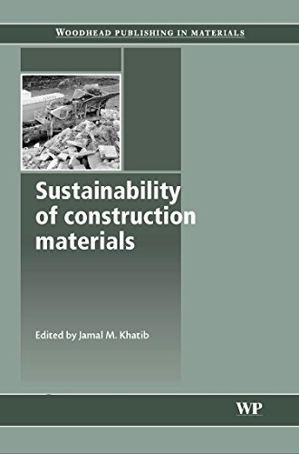 9781845693497: Sustainability of Construction Materials (Woodhead Publishing Series in Civil and Structural Engineering)
