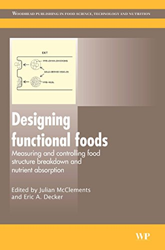 9781845694326: Designing Functional Foods: Measuring and Controlling Food Structure Breakdown and Nutrient Absorption (Woodhead Publishing Series in Food Science, Technology and Nutrition)