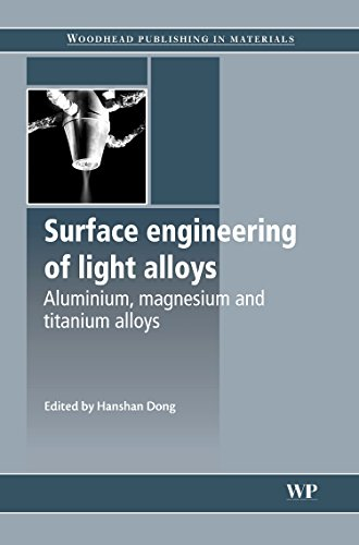 9781845695378: Surface Engineering of Light Alloys: Aluminium, Magnesium and Titanium Alloys (Woodhead Publishing Series in Metals and Surface Engineering)