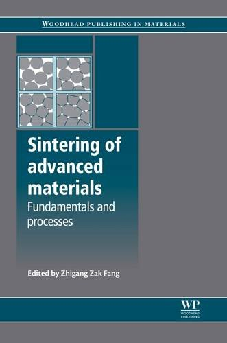 9781845695620: Sintering of Advanced Materials (Woodhead Publishing Series in Metals and Surface Engineering)