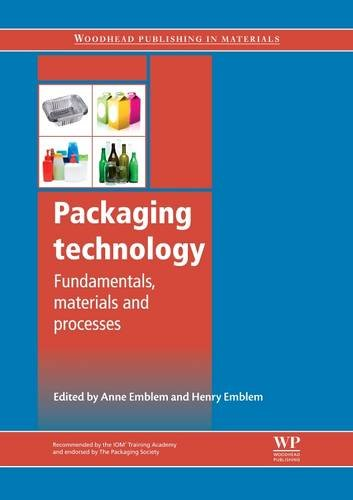 9781845696658: Packaging Technology: Fundamentals, Materials and Processes (Woodhead Publishing in Materials)
