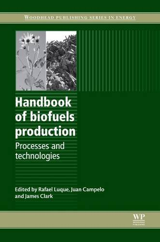 9781845696795: Handbook of Biofuels Production: Processes and Technologies (Woodhead Publishing Series in Energy)