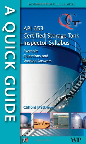 9781845697563: A Quick Guide to API 653 Certified Storage Tank Inspector Syllabus: Example Questions and Worked Answers
