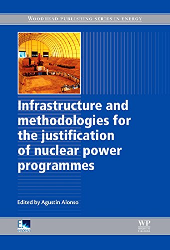 9781845699734: Infrastructure and Methodologies for the Justification of Nuclear Power Programmes (Woodhead Publishing Series in Energy)