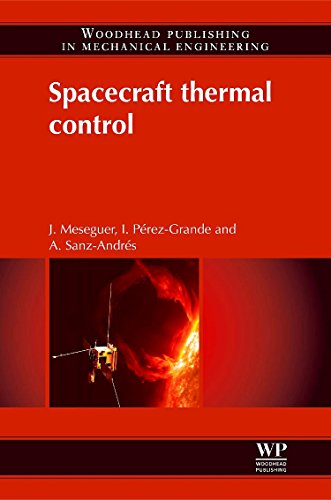9781845699963: Spacecraft Thermal Control (Woodhead Publishing in Mechanical Engineering)