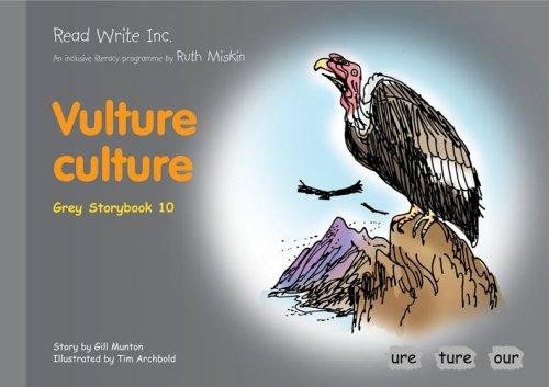 9781845710293: Read Write Inc.: Set 7 Grey: Colour Storybooks: Vulture Culture