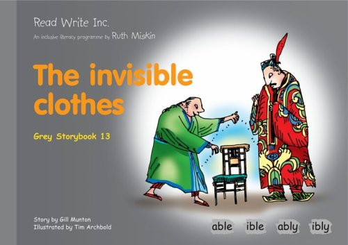 9781845710323: Read Write Inc.: Set 7 Grey: Colour Storybooks: The Invisible Clothes
