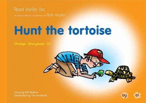 9781845710743: Read Write Inc.: Set 4 Orange: Colour Storybooks: Hunt the Tortoise