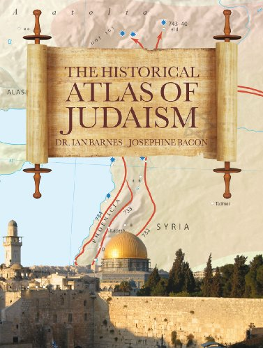 9781845734138: The Historical Atlas of Judaism