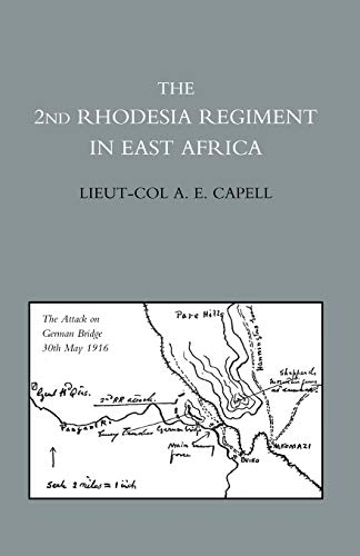 9781845743291: The 2nd Rhodesia Regiment In East Africa