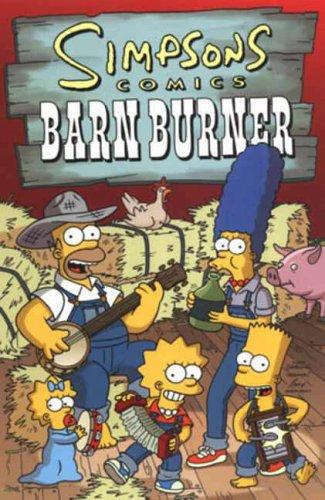 9781845760106: Simpsons Comics Barn Burner
