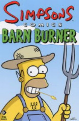 9781845760106: Simpsons Comics Barn Burner