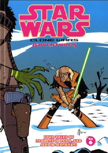 9781845763671: Star Wars: Clone Wars Adventures: v. 6 (Star Wars)