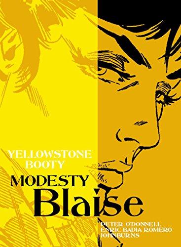 9781845764197: Modesty Blaise: Yellowstone Booty (Modesty Blaise(Graphic Novels))