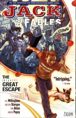 9781845764517: The (Nearly) Great Escape [JACK OF FABLES V01 (NEARLY) GR]