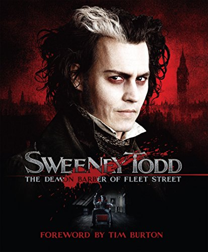 Sweeney Todd: The Demon Barber of Fleet Street Signed Tim Burton