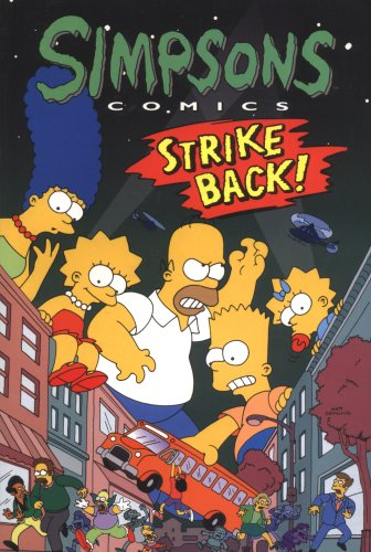 9781845768188: Simpsons Comics Strike Back!